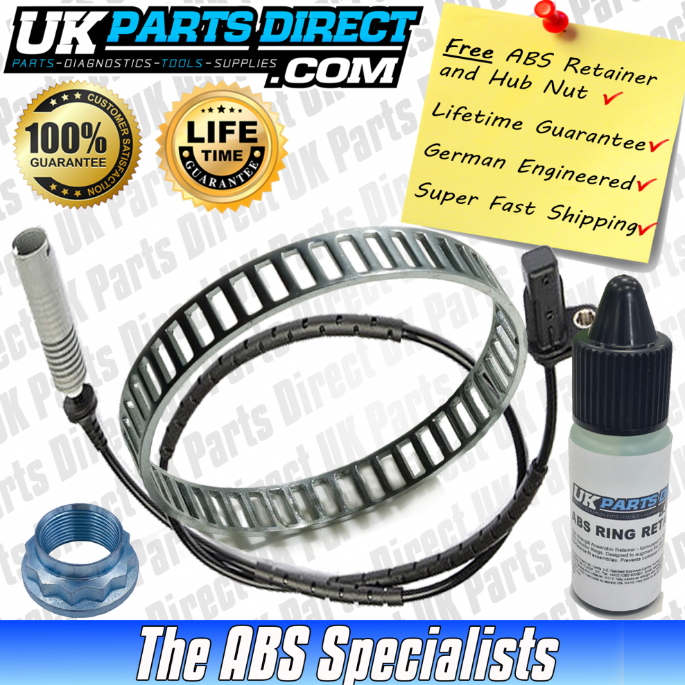 ABS Reluctor Ring and ABS Sensor Kit for BMW 3 Series (E90