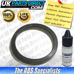 Volkswagen Caddy Mk3 ABS Reluctor Ring [80mm Outer Mounting Face] (2004->) Rear - PRO-COAT V3