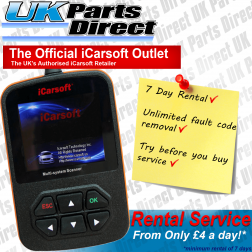 Land Rover Diagnostic Tool Rental Hire - iCarsoft i930 - 7 Day Rental