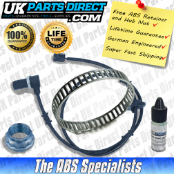 Mercedes E-Class (210) ABS Reluctor Ring and ABS Sensor Kit (1995-2003) LEFT Rear - LIFETIME GUARANTEE