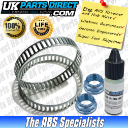 BMW 1 SERIES ABS RELUCTOR RINGS *FULL KIT* - E81 E82 E87 E88 REAR - PRO-COAT V3