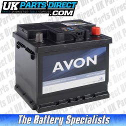 Avon Performance 012 Car Battery - 2 YEAR GUARANTEE