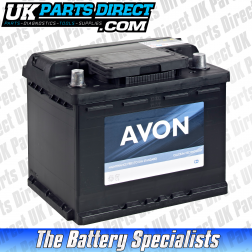 Avon Performance 027 Car Battery - 2 YEAR GUARANTEE