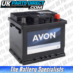 Avon Performance 063 Car Battery - 2 YEAR GUARANTEE