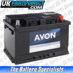 Avon Performance 100 Car Battery - 2 YEAR GUARANTEE