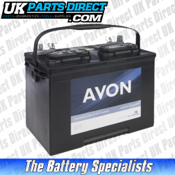 Avon Performance 110 Car Battery - 2 YEAR GUARANTEE