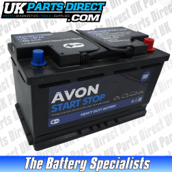 Avon Performance 115 AGM STOP START Car Battery - 4 YEAR GUARANTEE