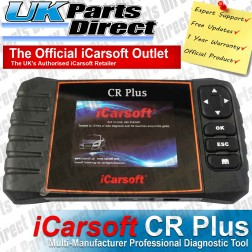 Multi-Manufacturer Professional Diagnostic Scan Tool - iCarsoft CR Plus