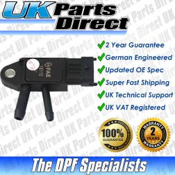 Ford Ka DPF Differential Pressure Sensor (2010->) - UPRATED SPEC