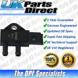 Lancia Phedra DPF Differential Pressure Sensor (2002-2010) - UPRATED SPEC