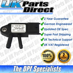 Renault Koleos DPF Differential Pressure Sensor (2008-2011) - UPRATED SPEC