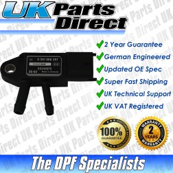 Fiat 500C DPF Differential Pressure Sensor (2012->) - UPRATED SPEC