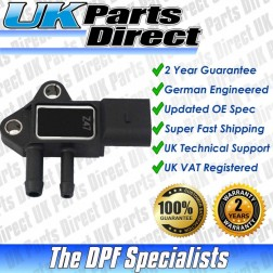 Volkswagen Caravelle T5 DPF Differential Pressure Sensor (2006-2007) [07Z906051B] - UPRATED SPEC