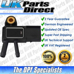 Smart Forfour DPF Differential Pressure Sensor (454) (2004-2007) - UPRATED SPEC