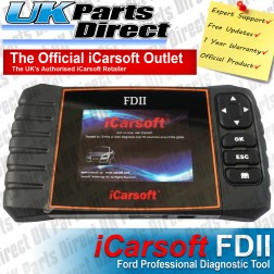 Ford Professional Diagnostic Scan Tool - iCarsoft FDII