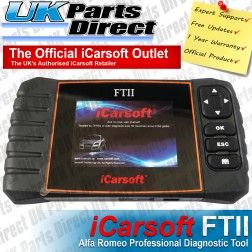 Alfa Romeo Professional Diagnostic Scan Tool - iCarsoft FTII