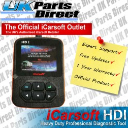 Heavy Duty Professional Diagnostic Scan Tool - iCarsoft HDI