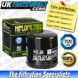MV Agusta Brutale 750 S Oil Filter (06-09) - Hi Flo - TUV APPROVED - HF554