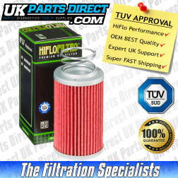 MV Agusta Brutale 800 Oil Filter (2013->) - Hi Flo - TUV APPROVED - HF567