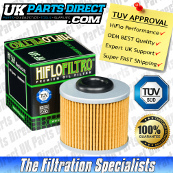 MV Agusta Brutale 675 Oil Filter (12-16) - Hi Flo - TUV APPROVED - HF569