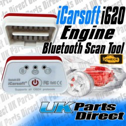 Engine OBDII Bluetooth Diagnostic Interface - iCarsoft i620
