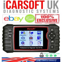 iCarsoft CR PRO - 2021 FULL System ALL Makes Diagnostic Tool - The OFFICIAL iCarsoft UK Outlet