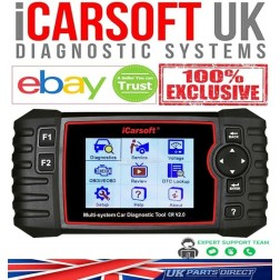 iCarsoft CR V2.0 - 2021 FULL System 10 Makes Diagnostic Tool - The OFFICIAL iCarsoft UK Outlet
