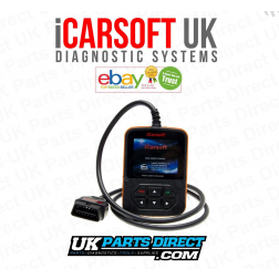 Dacia Full System Diagnostic Scan Tool - iCarsoft i907 - iCARSOFT UK