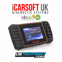 Dacia Professional Diagnostic Scan Tool - iCarsoft RTII - iCARSOFT UK