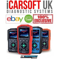 iCarsoft BCC V1.0 -  Jeep FULL System Diagnostic Scan Tool - The OFFICIAL iCarsoft UK Outlet