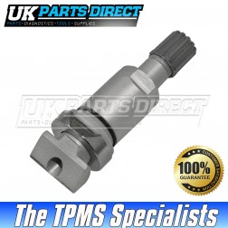 Mitsubishi Lancer Sportback Tyre Valve Repair Stem (09-17) - For VDO TG1C Clamp-In