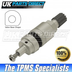 Dacia Lodgy Stepway Tyre Valve Repair Stem (15-18) - For Schrader High Speed Snap-In
