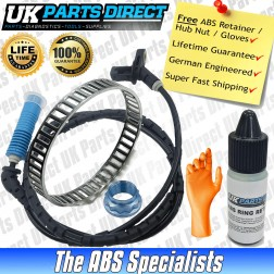 BMW 3 Series [E46] (330i / M3) ABS Reluctor Ring and ABS Sensor Kit (2002-2007) Rear - LIFETIME GUARANTEE