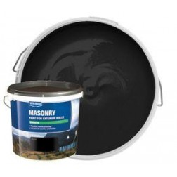 Black Smooth Masonry Paint 5Ltr