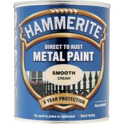 Hammerite Smooth Cream 750ml