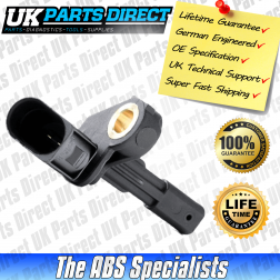 Skoda Octavia ABS Sensor (04-13) Rear Left - WHT003859 - LIFETIME GUARANTEE