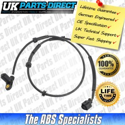 Seat Alhambra Mk1 ABS Sensor (95-00) Rear - 7M0927807D - LIFETIME GUARANTEE