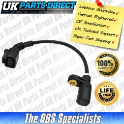 Skoda Octavia 4x4 ABS Sensor (99-10) Rear - 1J0927807D - LIFETIME GUARANTEE