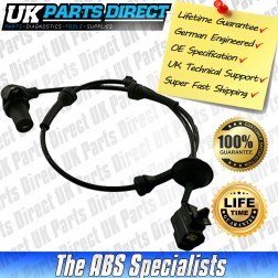 Chevrolet Aveo ABS Sensor (05-12) Front Right - 96959998 - LIFETIME GUARANTEE