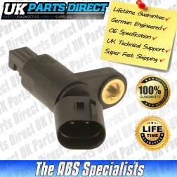 Volkswagen Caddy Pick-Up ABS Sensor (95-04) Rear - 1J0927807B