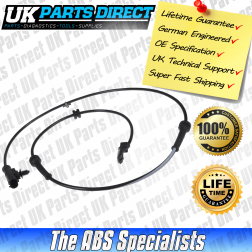 Nissan Qashqai ABS Sensor (06-15) Front - 47910-JD000 - LIFETIME GUARANTEE