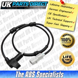 Peugeot 406 ABS Sensor (95-04) Rear - 454549 - LIFETIME GUARANTEE