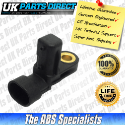 Jaguar XKR (X100) ABS Sensor (03-06) Front - XR822753 - LIFETIME GUARANTEE