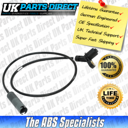 BMW 3 Series (E36) ABS Sensor (90-01) Rear - 34521163028 - LIFETIME GUARANTEE