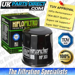 Access 450 Apache Oil Filter - Hi Flo - TUV APPROVED - HF303