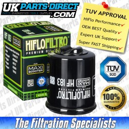 Adiva AD125 (Piaggio Engine) Oil Filter (06-09) - Hi Flo - TUV APPROVED - HF183