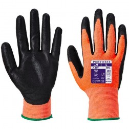 Amber Cut Resistant Gloves Large