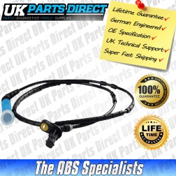 BMW 3 Series (E46) ABS Sensor (99-01) Rear - 34521166126 - LIFETIME GUARANTEE