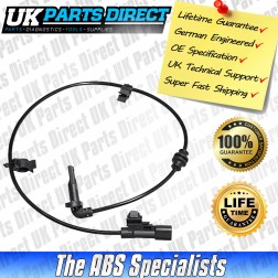 Vauxhall Cascada ABS Sensor (2013->) Rear - 13470643 - LIFETIME GUARANTEE