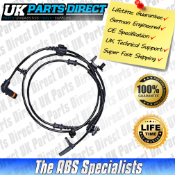 Dodge Magnum ABS Sensor (04-08) Rear Left - 04779457AB - LIFETIME GUARANTEE